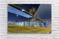 The Brooklyn Bridge 0  Acrylic Print