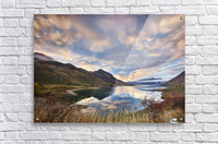 Morning Delight at Lake Hawea  Acrylic Print