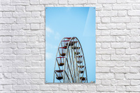 Ferris wheel at the Central Pier; Blackpool, England  Acrylic Print