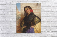 The spanish couquette 1879  Acrylic Print