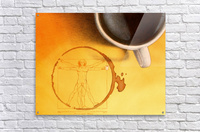 coffee man Acrylic Print