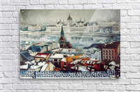 Budapest in wintertime  Acrylic Print