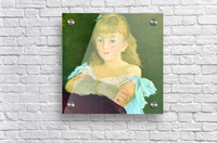 Portrait of Lina Campineanu by Manet  Acrylic Print