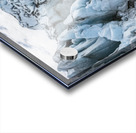 Front face of Colony Glacier, South-central Alaska; Alaska, United States of America Acrylic print