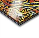 zigurat Acrylic print