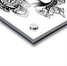 monogram crown  3 Acrylic print