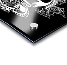 monogram crown  4 black Acrylic print