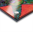 HUMMINGBIRD ON ORANGE Acrylic print