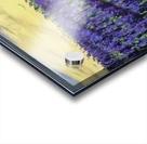 Purple Lavender fields painting Acrylic print