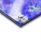 Textured Purple Acrylic print