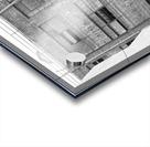 B&W Brick & Windows In Alley - DTLA  Acrylic print