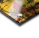 Oriental Painting. Japanese Style Acrylic print