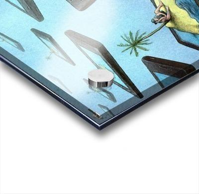 Islands Acrylic print