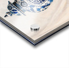 Blue and white vase  Acrylic print