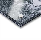 Frozen river. Acrylic print
