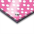 HOT PINK Polka Dots Acrylic print