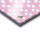 Sweet Lilac Polka Dots Acrylic print