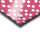 Sweet Pink Polka Dots Acrylic print
