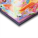 geometric abstracrion Acrylic print