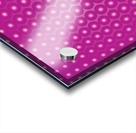 Magenta Pearl Pattern Acrylic print