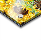 The Filed Of Watercolor Sunflowers Pattern Acrylic print