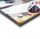 Lancia Fulvia Through The Window Acrylic print
