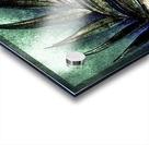 PEARL GLITTER EFFECT LEAVES TROPICAL DESIGN Acrylic print
