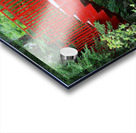 Dow Gardens Red Footbridge 062618 Acrylic print