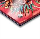 Vibrant Colors Tropical Floral Acrylic print