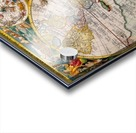 ORBIS TERRA RVM Old-Cartographic Map Acrylic print