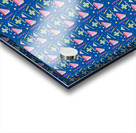 memphis pattern Acrylic print