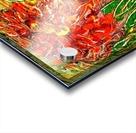 orange flower energy abstraction Acrylic print