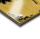Gold illustration for interior decoration 3 Acrylic print