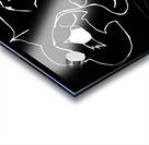 I Will Smile -Black Acrylic print