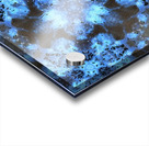 Kaleidoscope Burst of Blue  Acrylic print