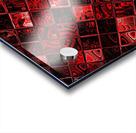 Red Glass Tiles 3 Acrylic print