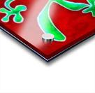 Cactus on Green Table Acrylic print