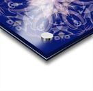 Limited Edition - Blue Graphic Art Healing Mandala 1005 Acrylic print