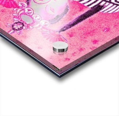 RÚ--in Hot Pink Acrylic print