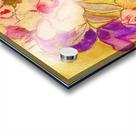 Floral pansies Acrylic print