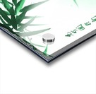 Green Bamboo Twig Acrylic print