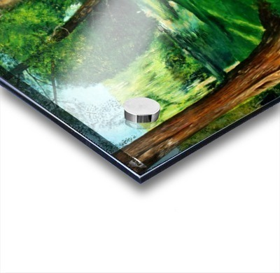 Arboretum shades Acrylic print
