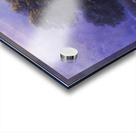 Ox Cart Crossing a Flooded Plain Acrylic print