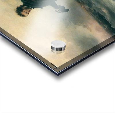 Pushkin and the sea Acrylic print
