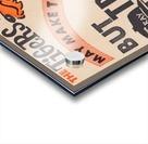 jefferson chevrolet detroit michigan car dealer auto sales ad vintage automobile sales advertising Acrylic print