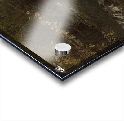 Landscape on a river Acrylic print
