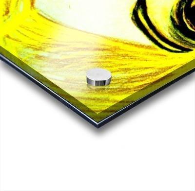 yellowgirl1 Acrylic print