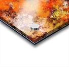 A jumping orange horse Acrylic print