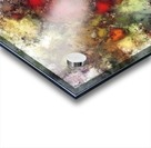 A natural collision of rocks Acrylic print
