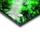 Green burst Acrylic print